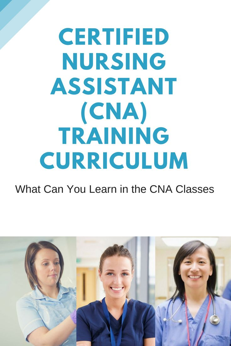 What Can You Learn In The Cna Classes Course And Curriculum Nurse