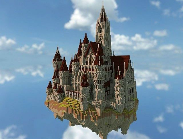 1000 Ideas About Minecraft Castle On Pinterest
