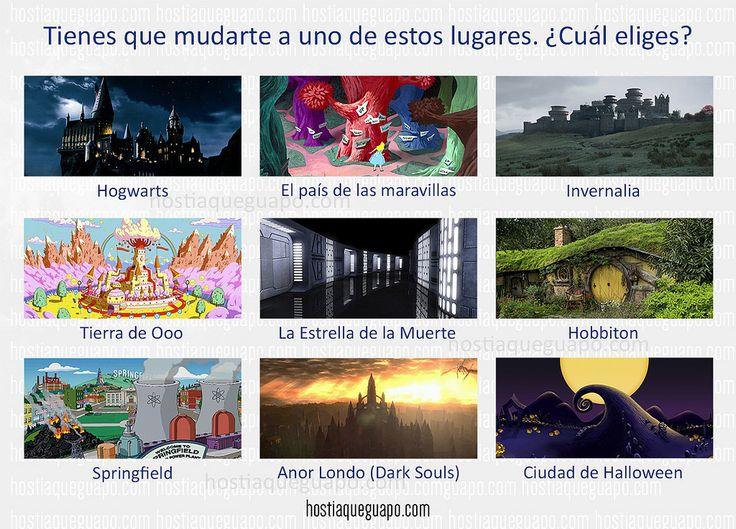 https://flic.kr/p/FYUJHK | ¿A dónde te mudarías? | Juegos para compartir en las redes. Hostiaqueguapo.com