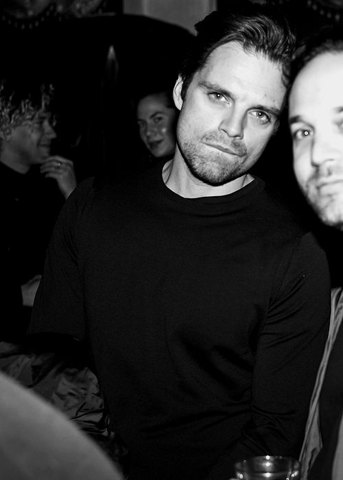 """sebastiansource: """"Sebastian Stan attends Vogue's & AG - Ashes & Confetti After Party in celebration of Tali Lennox in New York City on December 15th, 2016. """""""