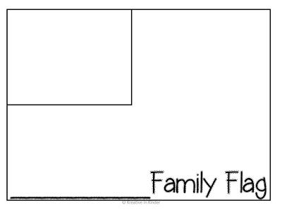 Constitution Day and Family Flag FREEBIE
