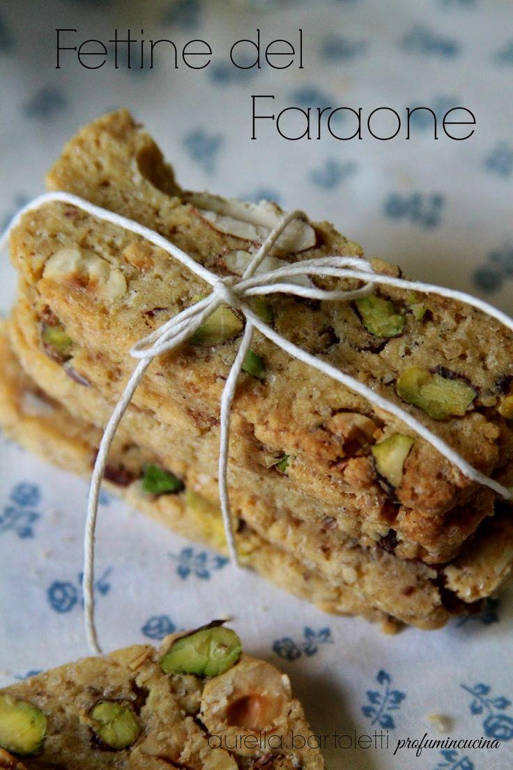 Profumi in cucina: Biscotti del Faraone, e un passito per accompagnarli