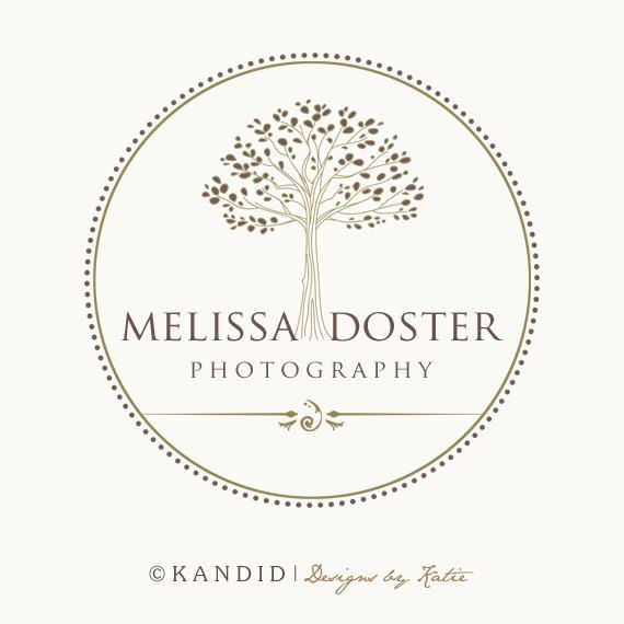 Premade Tree Logo and Watermark For Photographers by KMarshPhotos, $45.00
