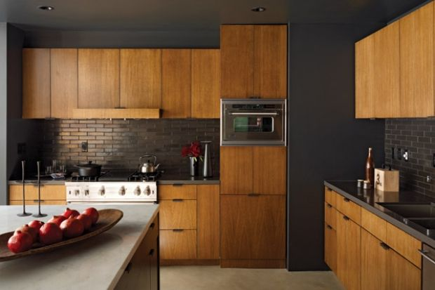 Wood Cabinets Cabinets And Fade To Black On Pinterest