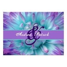 auqa blue and purple wedding - Google Search