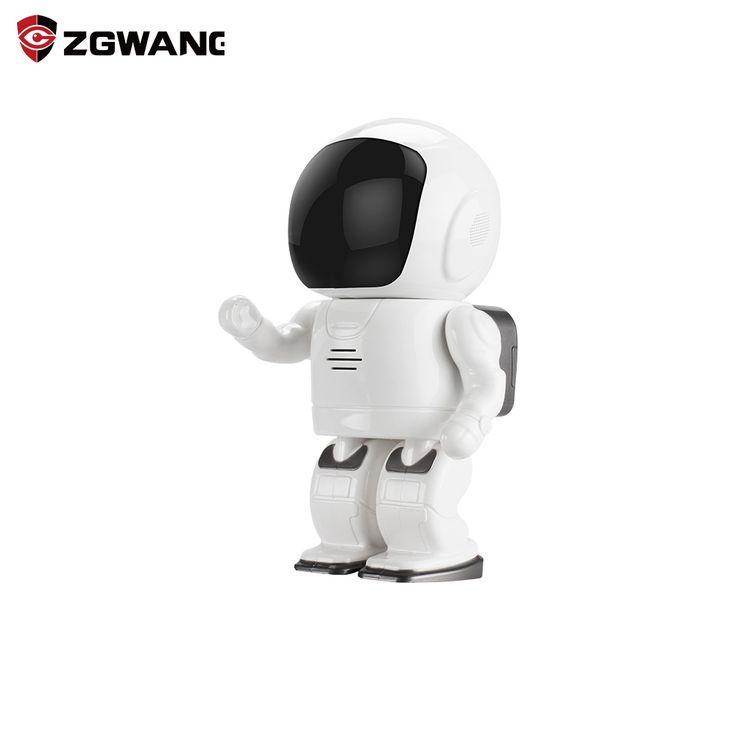 ZGWANG 960P 1.3MP HD Wireless Robot Camera Baby Monitor WIFI Camera P2P Audio  Security Cam Remote Home Monitoring IR Night Visi