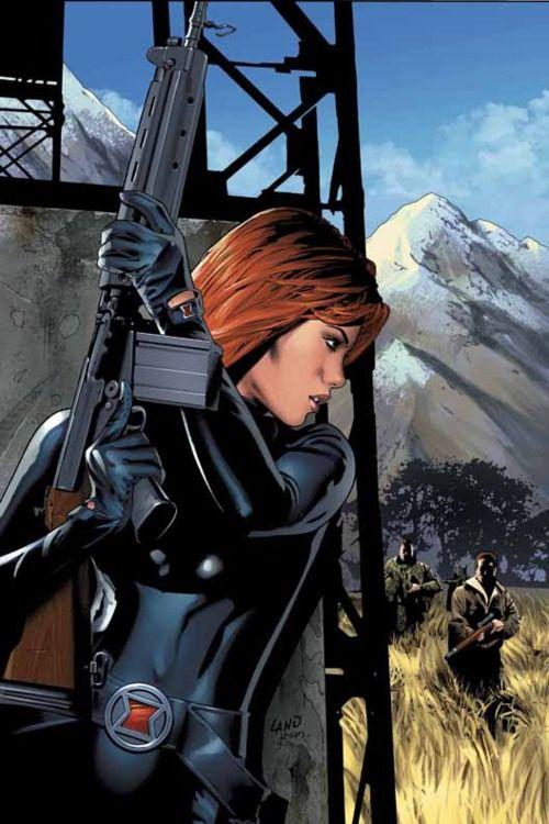 Black Widow by Greg Land