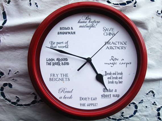 This busy clock:   29 Things To Help You Embrace Your Inner Disney Princess