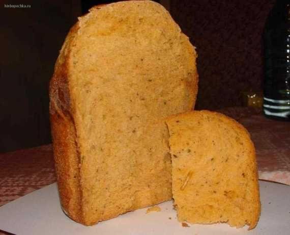 Итальянский хлеб с базиликом