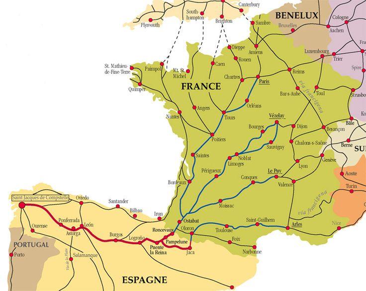 chemin de Saint Jacques de Compostelle- randos vers St jacques de Compostelle