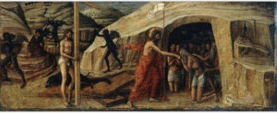 Jacopo Bellini. Musei Civici agli Eremitani  di Padova. 1459-1460. Olio su tavola.