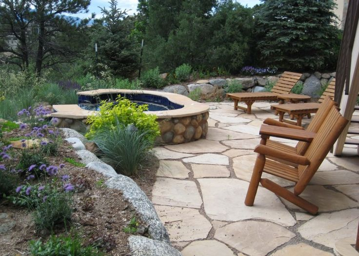 42 best images about flagstone walkways patios on