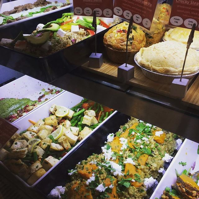 Just some of the awesome options available from vcafe Pitt Street and Frenchs Forest. #2delicious4words #salad #vcafe #wraps #goodfood #sydney