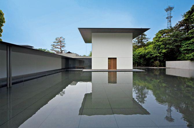 「鈴木大拙館」2011年、谷口吉生、撮影:北嶋俊治