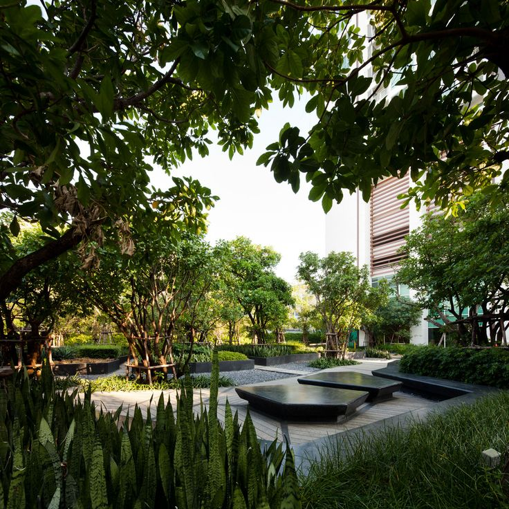 shma landscape architects / ladprao road condominiums, bangkok