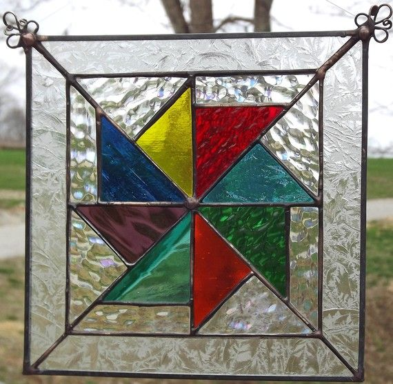232 Best Images About Stained Glass Geometric Patterns On