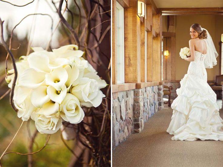 Elegant & Modern Purple Fall Wedding