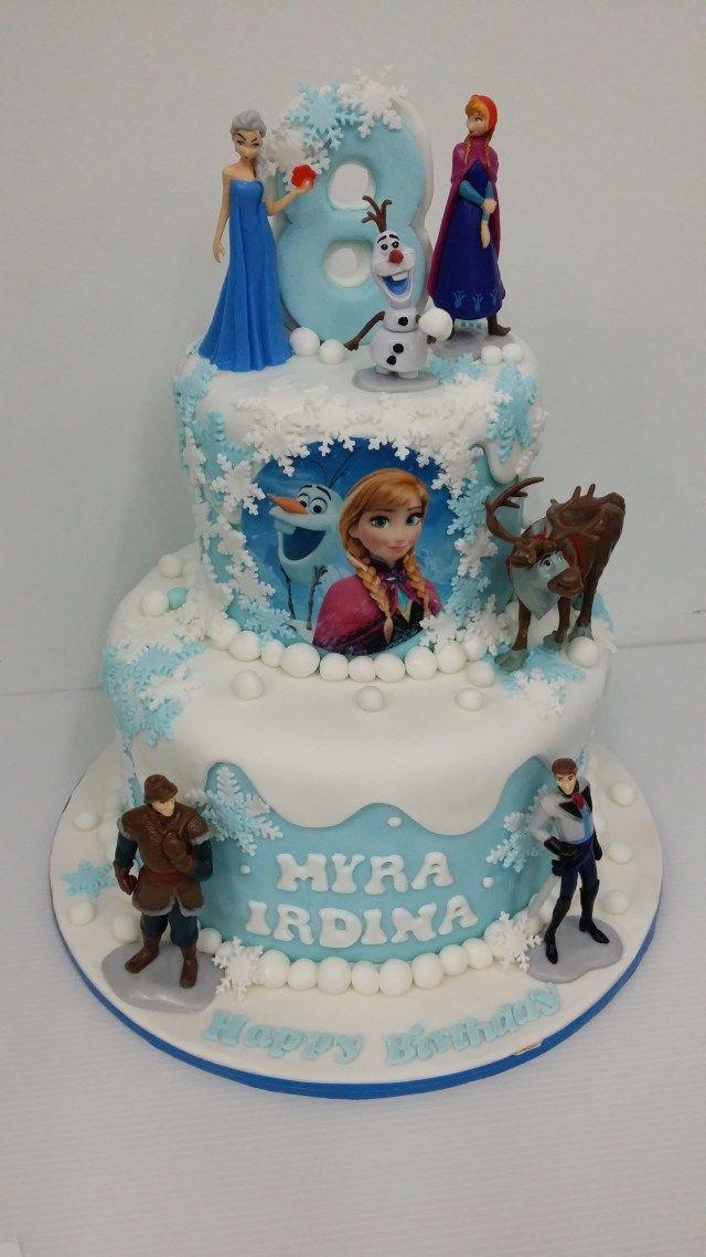 Superb 32 Elegant Image Of Birthday Cake Frozen Frozen Birthday Cake Personalised Birthday Cards Epsylily Jamesorg