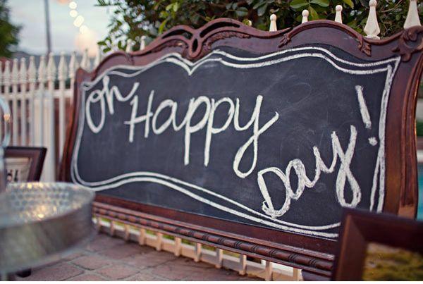 Fun With Chalkboards :  wedding arlington decor diy Vintage011 vintage01