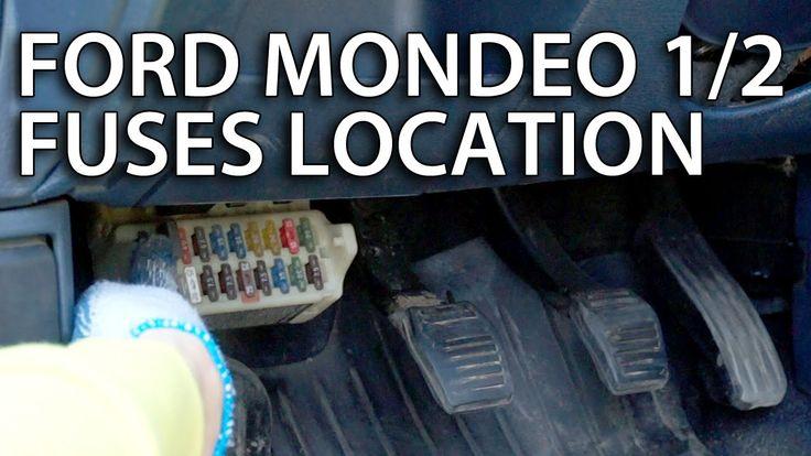 Where are cabin fuses in #Ford #Mondeo MK1 / MK2