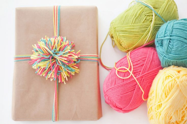 brown paper packages tied up in yarn