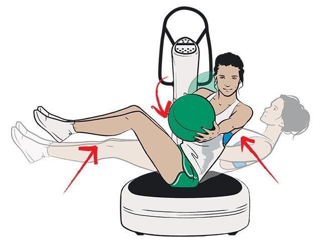 Les 24 Meilleures Images Du Tableau Exercices Powerplate