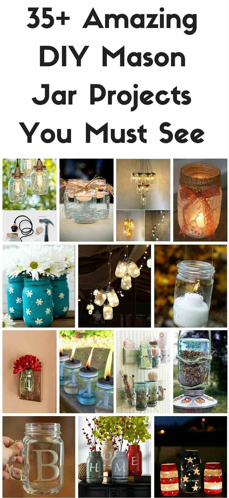 Pin It Share Tweet +1The Mason jar. Love it or hate it, you can't deny both its utility and natural cuteness. Not only they are decorative and functional, but are also inexpensive, making it no wonder that most households have at least a small collection. Whether you're decorating, organizing, or preparing gifts, there are a …