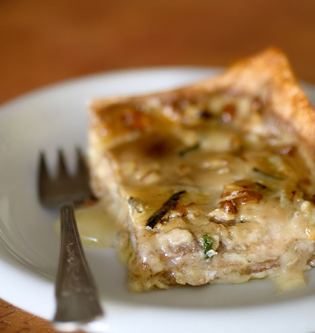 Lasagna con Strachitunt salvia e noci... yummm!