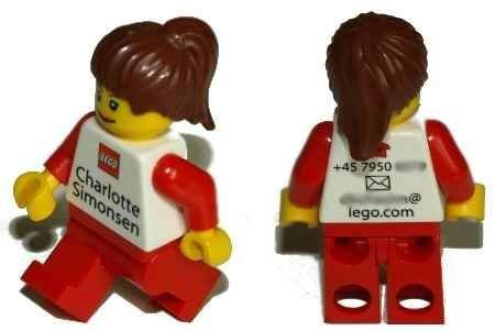 Lego Minifigure Business card toy