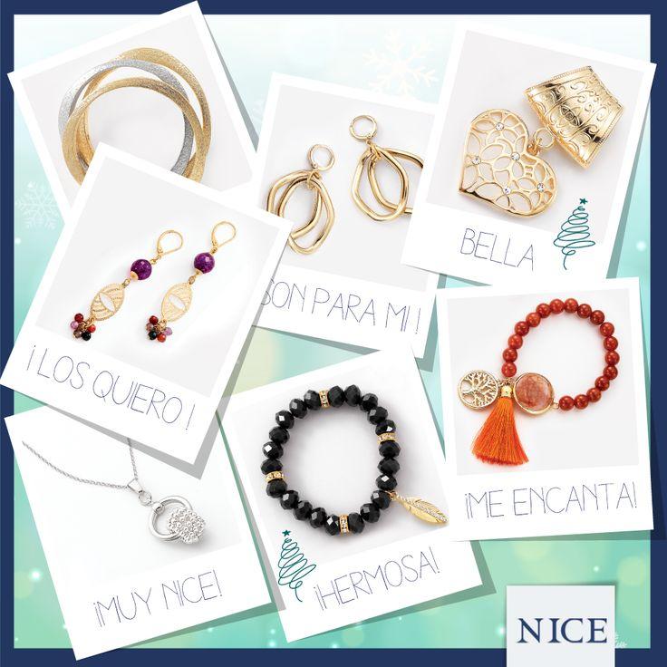 No te quedes sin regalos está Navidad, haz tu lista de deseos. #NICE #jewelry #fashion #LuceNICE