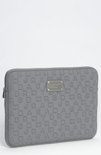 I realized that the reason why I want a new computer is mostly just to put it in this Marc by Marc Jacobs laptop sleeve