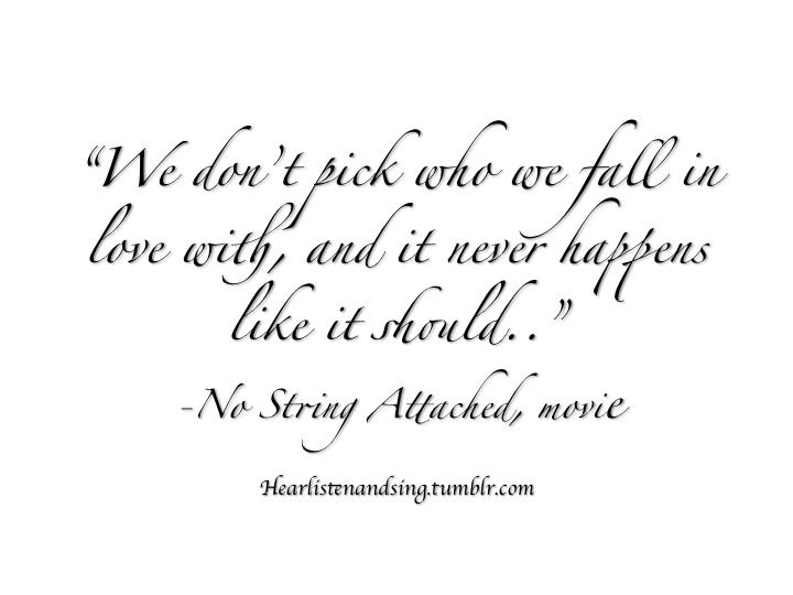 love with no strings attached quotes - Google Search