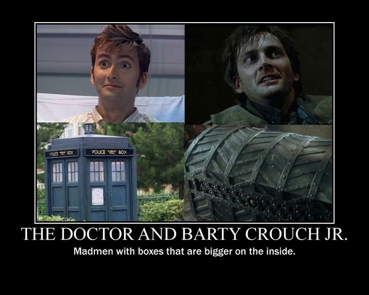 The Doctor and Barty Crouch Jr by snowcloud8.deviantart.com on @deviantART