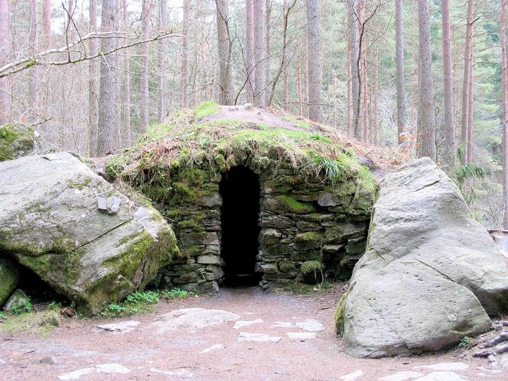 Stone Cairn near Dunkeld, Scotland