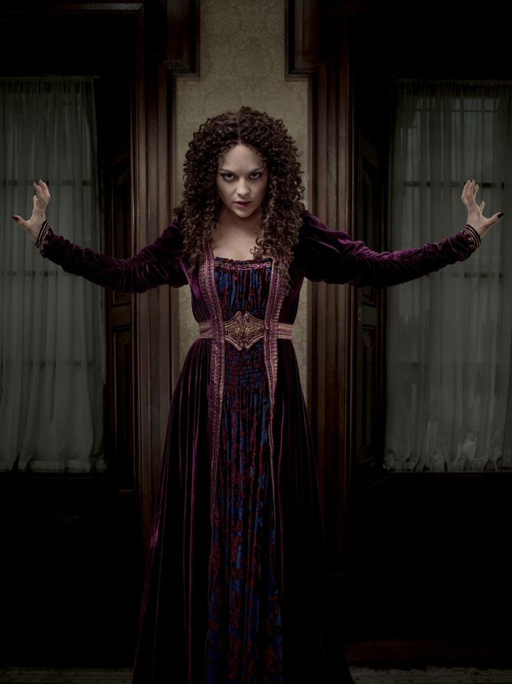 "Hecate in ""Penny Dreadful"" Artistic Reform gown"