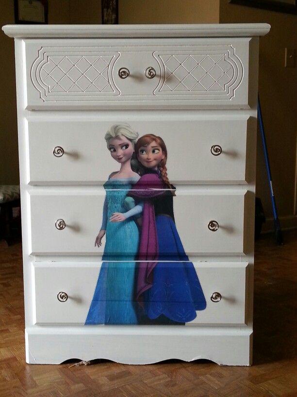 Frozen Dresser My Finished Projects Pinterest Frozen