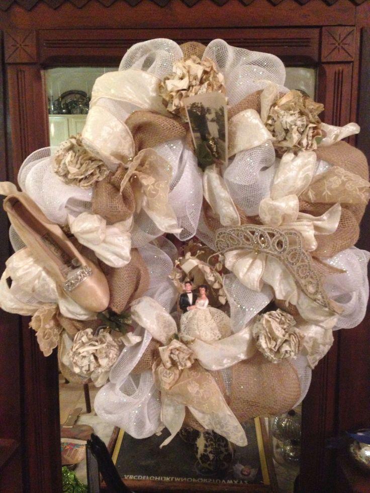 1000 Images About Wedding Wreaths On Pinterest Shotgun