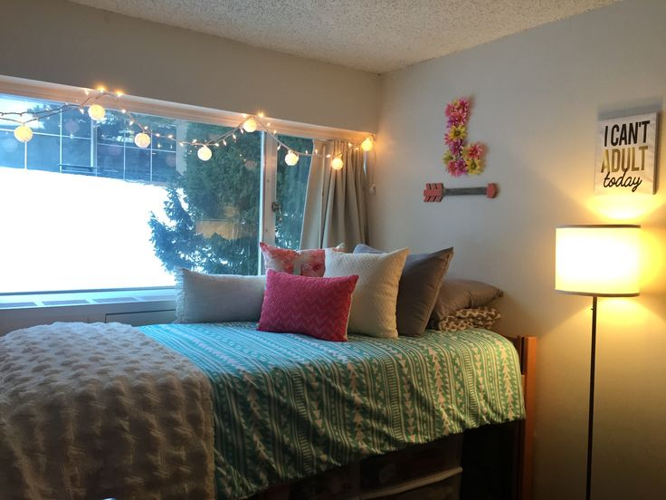 My Single Dorm Room At Washington State University (Regents Hall) Part 35