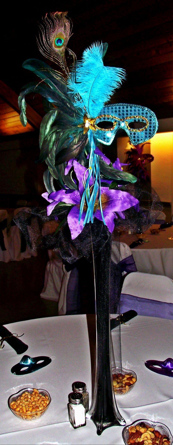 Wedding Masquerade Centerpiecesu Ideas
