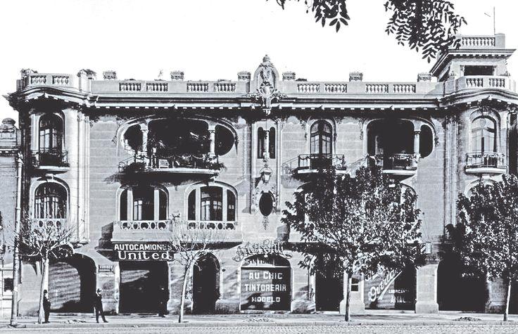 LUCIANO KULCZEWSKI actual sede del Colegio de Arquitectos Santiago de Chile