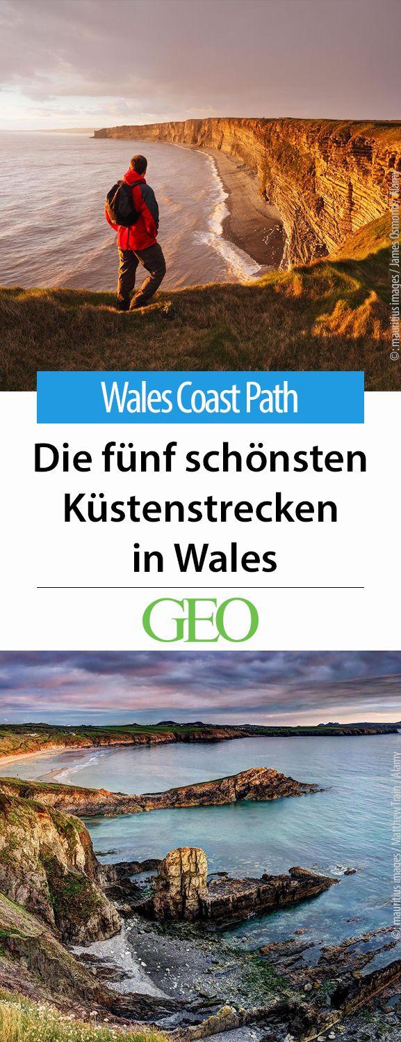 Der Fernwanderweg Wales Coast Path umspannt die gesamte walisische Küste auf einer Länge von 1400 Kilometern. Wir stellen Ihnen fünf Tages- und Mehrtagestouren vor, die sich besonders lohnen