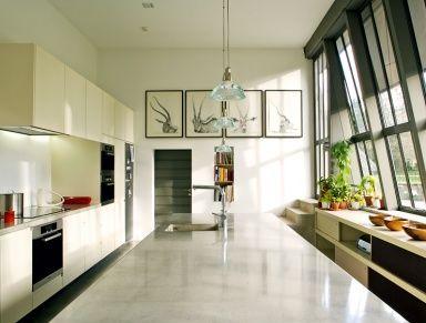 Kochen mit Gemüsegarten - Küchen in Architektenhäusern 26 - [SCHÖNER WOHNEN]