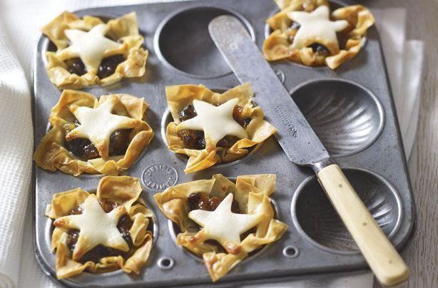Filo pastry mince pies recipe - goodtoknow