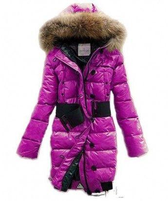 Moncler LUCIE New Women Pop Star Pink Coat Down