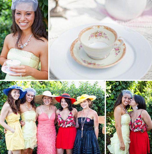diy tea party invitations - Google Search