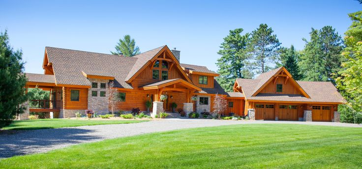 299 best dream home designs options images on pinterest for Northern wisconsin home builders