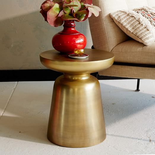 Martini Side Table Metallics