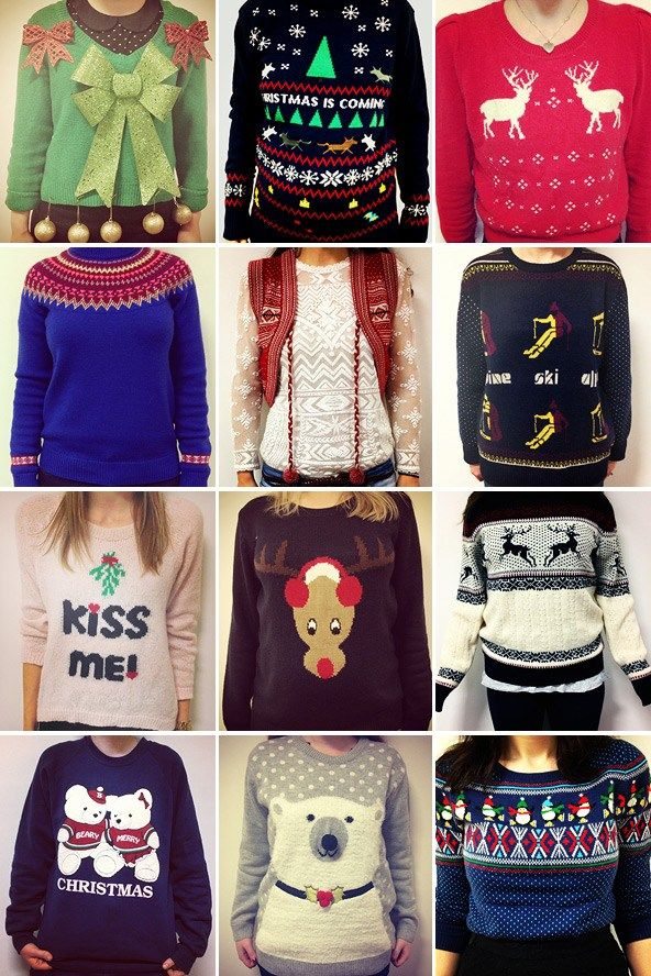 Happy Christmas Jumper Day! Here are some of the Christmas jumpers we're wearing in the office today