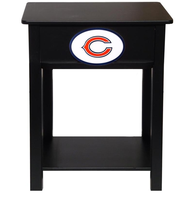 Chicago Bears Nightstand  Cute To Make For Brandonu0027s Room