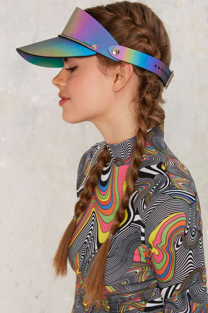 Esqape 3m Holographic Visor Sale 40 Off Hair Hats